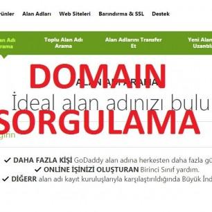 Domain sorgulama